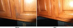 Take a look at this cabinet renewal!