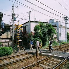 My crossing, Koshinzuka Sation, Toshima-ku, Tokyo, Japan, 2012, photograph by Ryan Cameron Moroney.