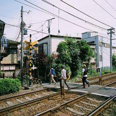My crossing, Koshinzuka Sation, Toshima-ku, Tokyo, Japan, 2012, photograph by Ryan Cameron Moroney.