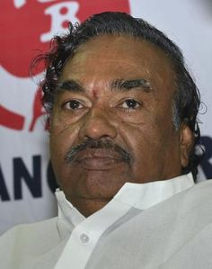 EESHWARAPPA is a senior politician of the Bharatiya Janata Party, one of the two major political parties in India. He is an influential leader of the Kuruba Gowda community