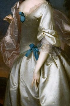 Mrs Robert Rogers- Elizabeth Browne by Joseph Blackburn, 1761
