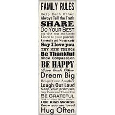 Another board family rules