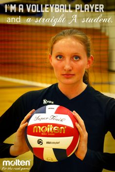 I am a volleyball player AND _________.  http://fb.com/moltenus #Molten