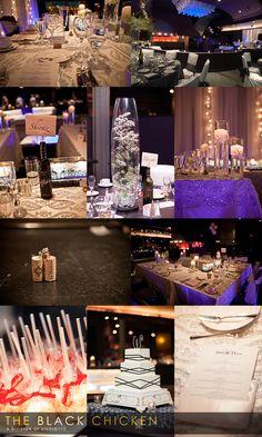 Sleek Nightclub Style Wedding At Edge Lounge JW Marriott Las Vegas Resort
