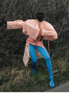 Viviane Sassen for Dazed&Confusion (Alek Wek & Grace Bol wearing Vetements&Vivienne Westwood)