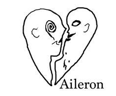 "Aileron's LOGO!!!Designed by ""Tomoya Sirehi"""