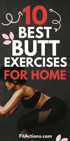 Here's a GREAT BUTT WORKOUT to get a perky,firm butt right at home. This butt workout for women demonstrates all the butt exercises with weight and glute exercises without weight. WANT TO TRY THE BEST BUTT WORKOUT FOR HOME? At Home Workouts For Women, Fitness Tips For Women, Health Tips For Women, Great Butt Workouts, Fitness Workouts, Exercise Without Weights, Glute Exercises, Fitness Motivation, Exercise Motivation