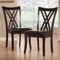 overstock has 2 chairs for about $150