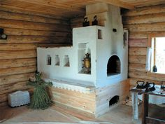 Важный элемент дома - печь