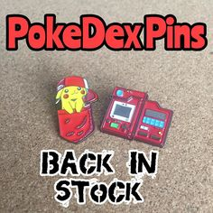 They've arrived! A small number of PokeDex pins are back in stock these are super limited so first come first serve link to our website in our bio if you want to see a remake of these let me know but for now we've a couple to sell again     #SimpPins #enamelpins #pins #pinstagram #pokemongo #bootlegbart #pin #lapelpins #pingame #pinsforsale #pingame #pingamestrong #pinsofig #pinlife #pinnation #handmade #pinning #instadaily #pokepins #pincollector #pokedex #pingameproper #pincommunity…