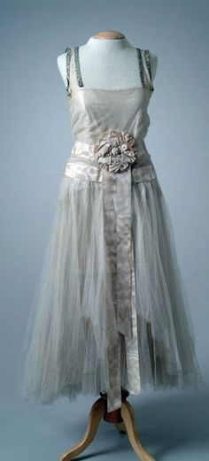 Callot Soeurs Dress - 1923 - The Meadow Brook Hall Historic Costume Collection - @~ Mlle