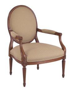Louis J Solomon Louis XVI Armchair Louis Xvi, Solomon, Armchair, Traditional Styles, Sofa, Chairs, Tropical, Furniture, Home Decor