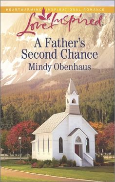 A Father's Second Chance by Mindy Obenhaus, Love Inspired, Christian Romance, A restaurant owner needs some work done on three suites in time for the holidays, and she enlists the help of a local handyman and carpenter but gets more than she hoped for in the end.