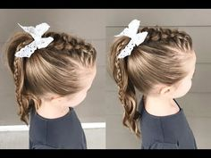 Easy Short Hair Updos That Will Take Eight Minutes or Less – HerHairdos Short Hair Styles Easy, Short Hair Updo, Braided Hairstyles Updo, Braided Ponytail, Side Ponytails, Updo Hairstyle, Prom Hairstyles, Formal Hairstyles For Short Hair, Fast Hairstyles