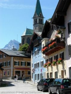berchtesgaden germany, street scene