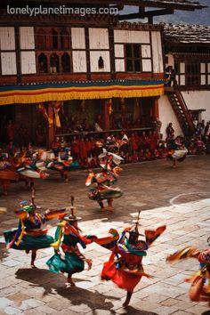 Festival de danzas.