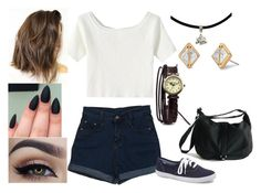 """""""Untitled #469"""" by abundanceofnere on Polyvore featuring Forever 21 and Stella & Dot"""