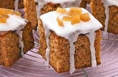If you love the warm spiciness of ginger cake, this Woman's Weekly recipe for gingerbread cubes made with stem ginger make a delicious snack or tray bake treat.Get the recipe: Gingerbread cubes Tray Bake Recipes, Baking Recipes, Baking Ideas, Cool Ideas, Morning Food, Morning Coffee, Coffee Break, Coffee Menu, Coffee Drinks