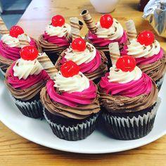 Ice cream theme cupcakes