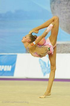 Maria Titova #rhythmic #gymnastics