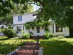 Great location! Wonderfully spacious 3 bedroom home in the heart of downtown Kennebunkport. Amazing guest cottage with two additional bedrooms, cathedral ceilings and stone fireplace. Located at the corner of Ocean Avenue and Elm Street.