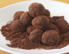 Truffles.... ahh, I love how they melt in your mouth.  A must for the holidays!!