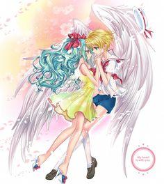 Yuri x Hippo Kawaii, Anime Mermaid, Romantic Anime Couples, Mikuo, Mermaid Melody, Sailor Moon Manga, Magical Girl, Pitch, Manga Anime