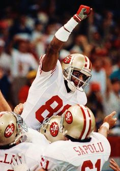 Greatest WR Ever Jerry Rice ~Repinned Via Pamela Roth