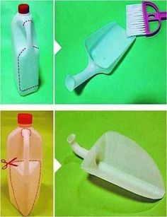 Plastic bottles recycled!