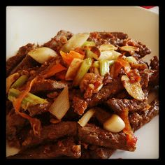 Healthy Crispy Chilli Beef - Weight watchers