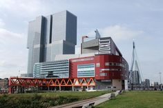de Rotterdam + Nieuwe Luxor + Erasmusbrug, Rotterdam