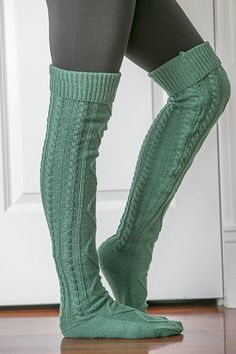 Cold weather never looked more stylish! These cable knit over the knee socks are a must have! Extremely stylish for either lounging around the house or dressing up an outfit! Material: 100% Acrylic Ca