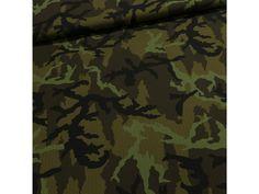 Směsové plátno BOND vojenská maskáčovina zelená, š.150cm (látka v metráži) | TextilCentrum.cz Outdoor Blanket, Military, Army, Military Man