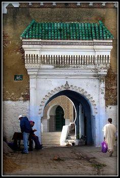 Puerta de la Medina, Tetuán, Marruecos (Maroc, Morocco), Carlos Cuerda