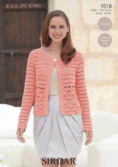 "CROCHET PATTERN Sizes 32"" - 54"""
