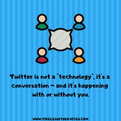 Join the conversation on Twitter. It can be toxic but its what you the user makes out of it! Follow Tireless  IT Services for more info about Digital Marketing. #TuesdayThoughts #ThoughtOfTheDay #twittermarketing #SocialMedia #socialmediamarketing #Internetmarketing #socialmediaquotes Social Media Marketing, Digital Marketing, Internet Marketing Company, Social Media Quotes, Thought Of The Day, Making Out, Conversation, Join, Technology