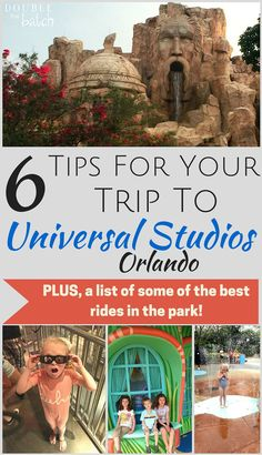Tips for visiting universal studios orlando a plus a list of the best ride! Saving this for our next vacation!