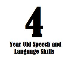 This page is all about 4 year old speech and language skills. Keep in mind that these milestones are based on research about typically-developing children but this information is not meant to diagnose a speech-language delay or disorder. Communication Development, Language Development, Speech Therapy Activities, Language Activities, Speech Language Pathology, Speech And Language, 4 Year Old Development, 4 Year Old Milestones, Speech Delay