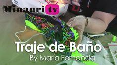 DIY - Cómo hacer un traje de baño - How-to make a swimsuit by María Fern...
