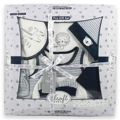 Baby Poncho, Baby Kimono, Baby Gift Sets, Baby Gifts, Boys Party Wear, Striped Mittens, Amazon Gifts, Baby Girl Fashion, Shower Gifts