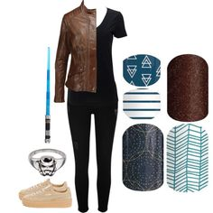 Guess The Star Wars Character - Jamberry Nails by kspantongroup on Polyvore featuring polyvore, fashion, style, Simplex Apparel, Belstaff, River Island, Puma and clothing