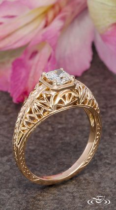 Design Your Own Unique Custom Engagement Ring and Unusual Wedding Bands in Gold and Platinum - Custom Jewelry Gallery Engraved Knife, Green Lake Jewelry, Design Your Own Ring, Ring My Bell, Custom Jewelry Design, Dress Rings, Jewelry Art, Jewellery, Rose Gold Engagement Ring