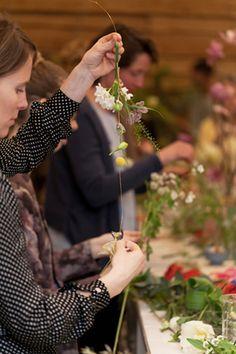 Kinfolk Flower Potluck gathering at Restored ( photo - onahazymorning)