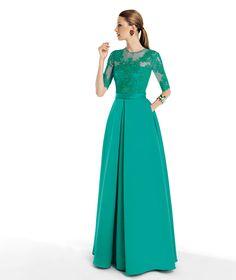 Pronovias te presenta su vestido de fiesta Taull de la colección Fiesta 2014. | Pronovias