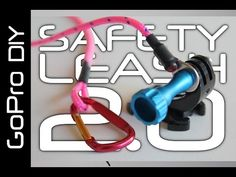 DIY SAFETY LEASH for all GoPro cameras, including HERO 4 Session - GoPro DIY #12 - YouTube