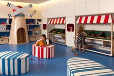 more cool indoor play space ideas for children!