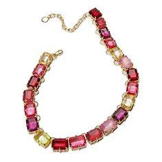 "R.J. Graziano ""Bright and Beautiful"" Stone Necklace"