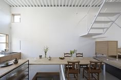 Structural Storage in a Smart and Skinny Home: Remodelista {this house is amazing and beautiful}