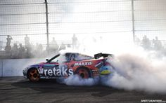Ryan Tuerck smoking some tires at Formula D Irwindale 2012. MTHR FCKN HNGN