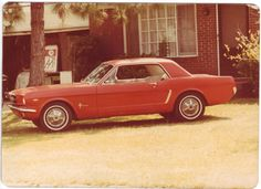 My second car 1966 Mustang 289 V8 owned it in 1979